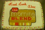 alex-miranda-kgun-morning-blend-host-last-day-cake